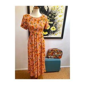 Vintage 90's Sarah Elizabeth Daisy Dress